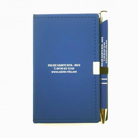 Bloc-notes avec stylo