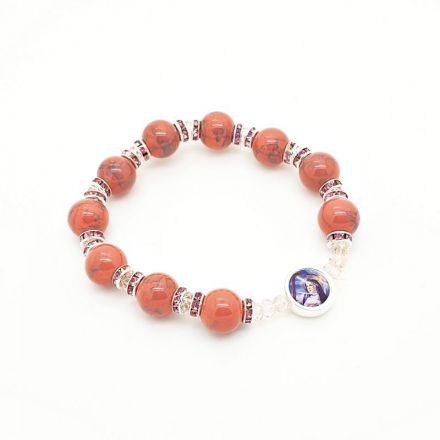 Bracelet couleur corail