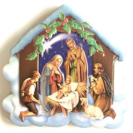 Cadre Nativité - crèche