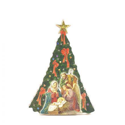 Cadre Nativité - Sapin