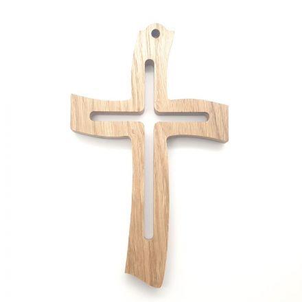 """Croix en chêne """"croix"""""""
