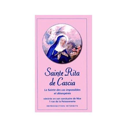 Neuvaine rose Sainte Rita