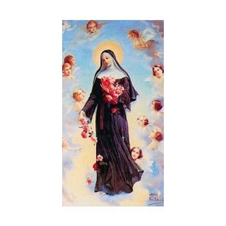 Image Sainte Rita avec anges