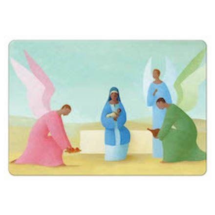 Magnet Noël - Les anges