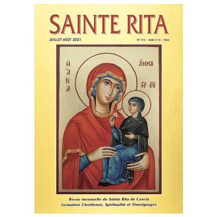 Revue Sainte Rita Juillet-Août 2021