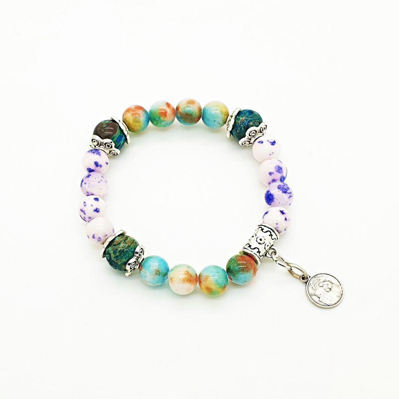 Bracelet Jade et Agate