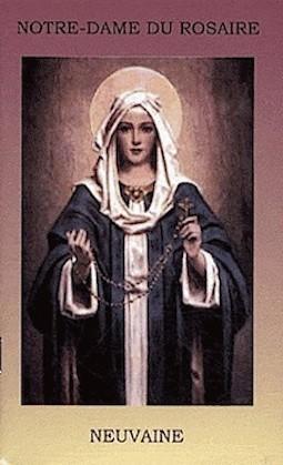 Neuvaine à Notre Dame du Rosaire