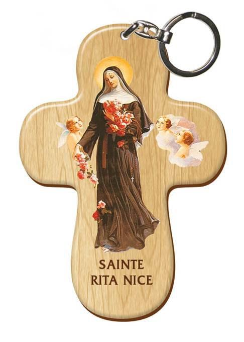Porte-clés Sainte Rita
