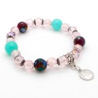 Bracelet Jade et Quartz