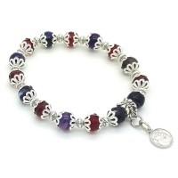 Bracelet Agate et Cristal