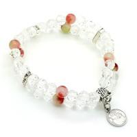 Bracelet double perles Cristal