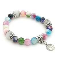 Bracelet Jade multicolore