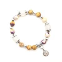 Bracelet Agate et Jade
