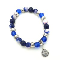 Bracelet Lapis Lazuli et Jade