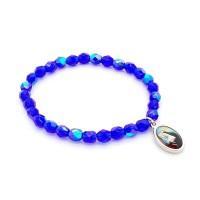 Bracelet bleu cobalt