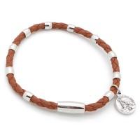 Bracelet aimanté marron