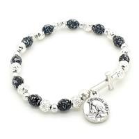 Bracelet dizainier argenté