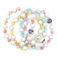 Lot de 4 bracelets couleurs
