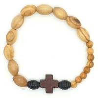 Bracelet homme bois d'olivier