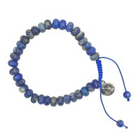 Bracelet Lapis-Lazuli réglable