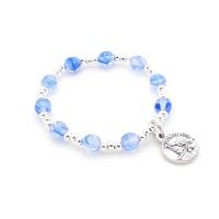 Bracelet enfant bleu