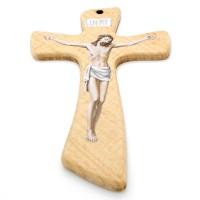 Crucifix bois imprimé