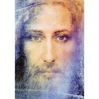 Carte postale Visage du Christ