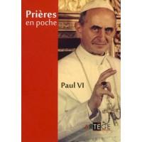 Prières en poche - Paul VI