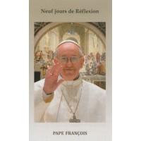 Neuf jours de réflexion avec le pape François