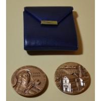 Médaille souvenir de Sainte Rita