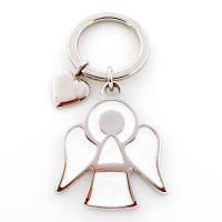Porte-clés Ange blanc