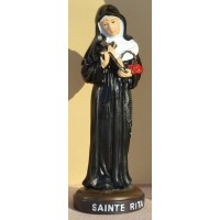Statue de Sainte Rita - 12 cm