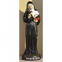 Statue de Sainte Rita - 19 cm
